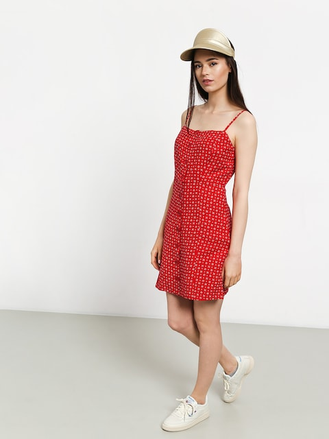 Volcom Salt And Sun Dress Wmn (red)