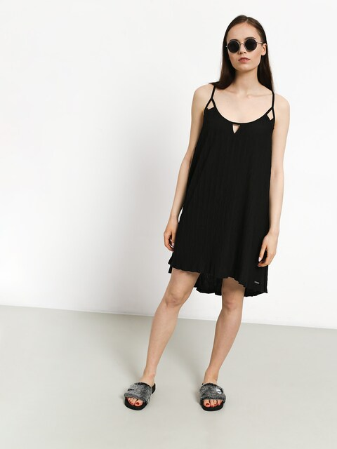 Volcom Back 2 Mentality Dress Wmn (blk)