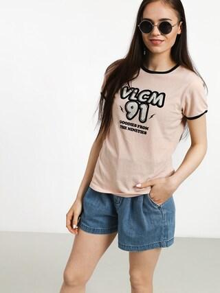 Volcom Keep Goin Ringer T-shirt Wmn (msh)