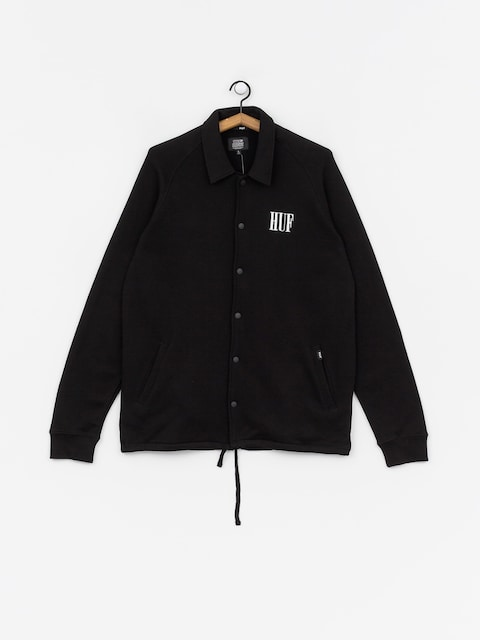 HUF Olive Fleece Jacket (black)