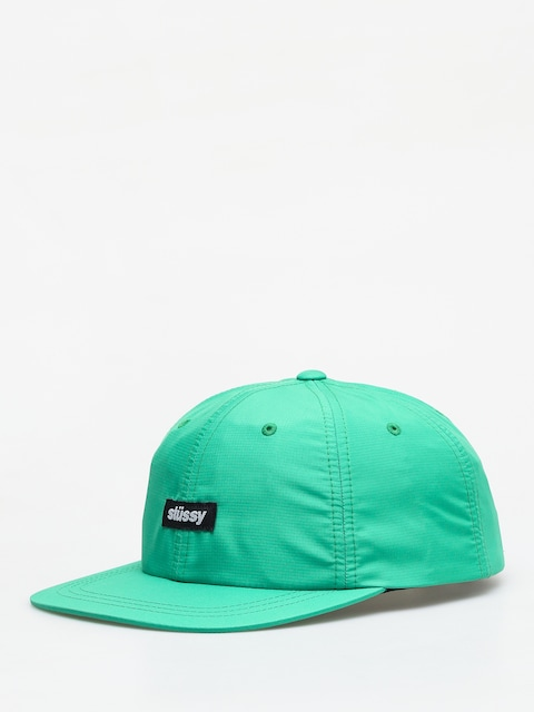 Stussy Poly Ripstop Low Pro ZD Cap (green)