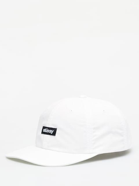 Stussy Poly Ripstop Low Pro ZD Cap (white)