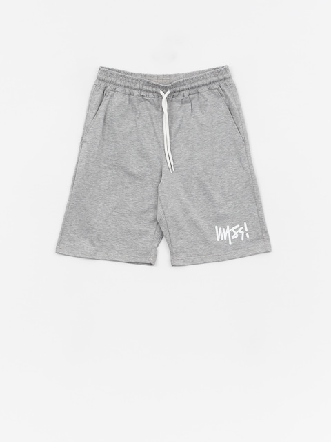 MassDnm Signature Shorts (light heather grey)