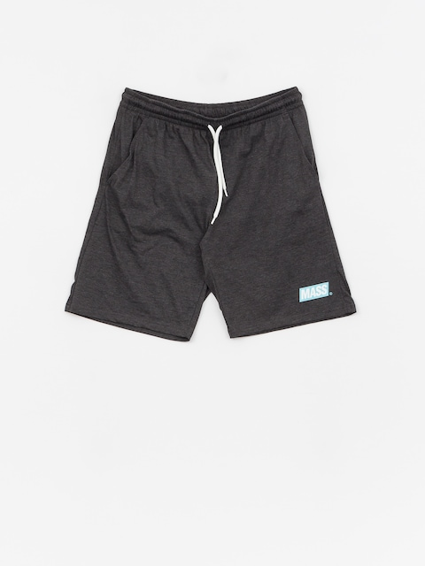 MassDnm Big Box Shorts (dark heather grey)