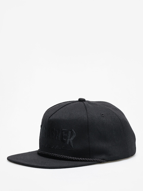 Thrasher Rope Snap ZD Cap (black/black)