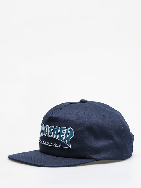Thrasher Outlined ZD Cap (navy/grey)