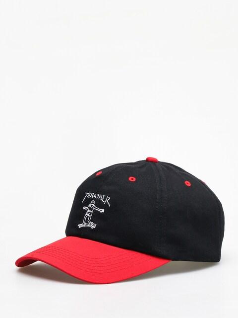 Thrasher Gonz Old Timer ZD Cap (black/red)