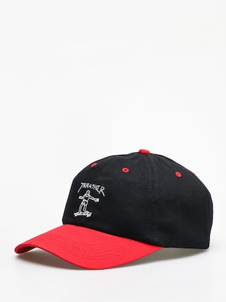 Thrasher Gonz Old Timer ZD Cap (black/red)
