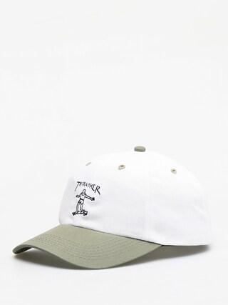 Thrasher Gonz Old Timer ZD Cap (white/olive)