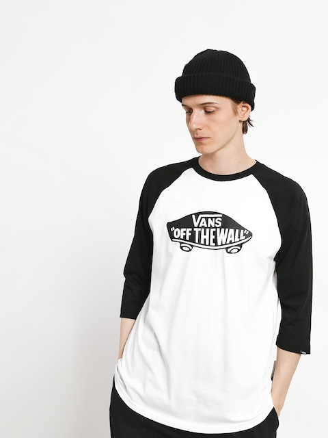 Vans T-shirt OTW Raglan (wht/blk)