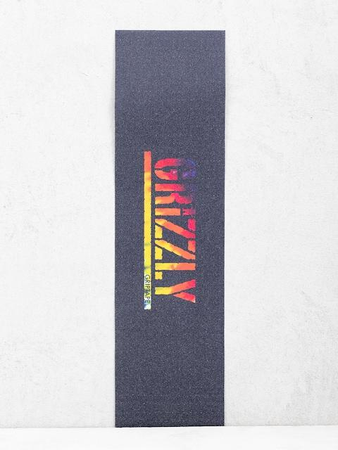 Grizzly Griptape Acid Test Stamp Griptape Grip (tie dye)