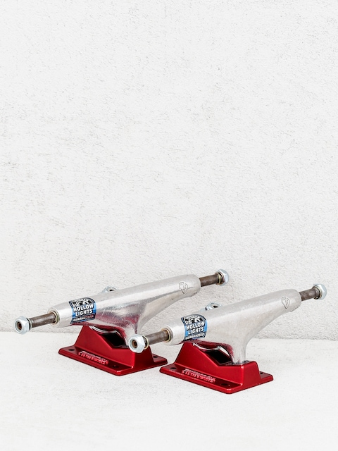 Thunder Jones Stamped Hl Trucks (silver/red)