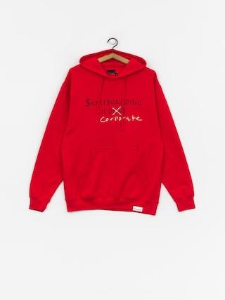 Diamond Supply Co. Skate Crime HD Hoodie (red)