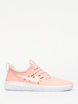Nike SB Nyjah Free Shoes (bleached coral/white aphid green)