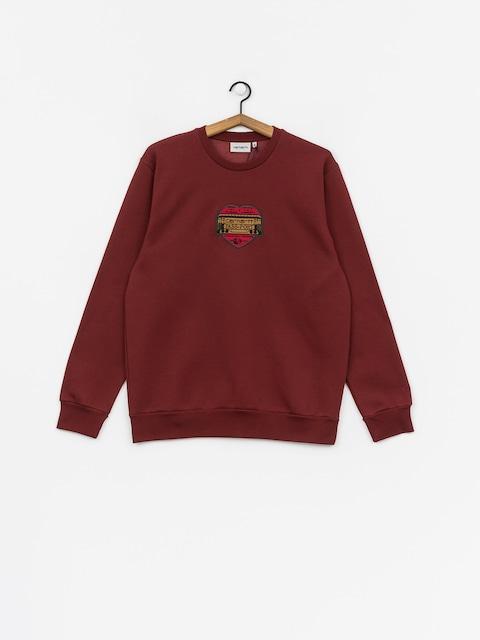 Carhartt WIP Thank You X Pass Port Sweatshirt (pass port burnt red)