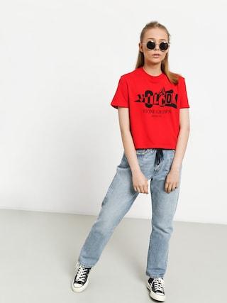 Volcom Stone Grown T-shirt Wmn (red)