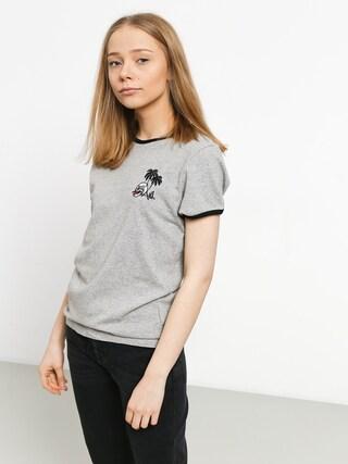 Volcom Keep Goin Ringer T-shirt Wmn (hgr)