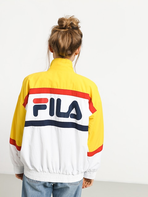 Fila Kaya Jacket Wmn (empire yellow/bright white/black)