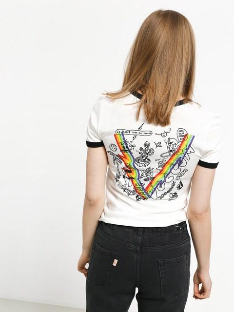 Volcom Go Faster Ringer T-shirt Wmn