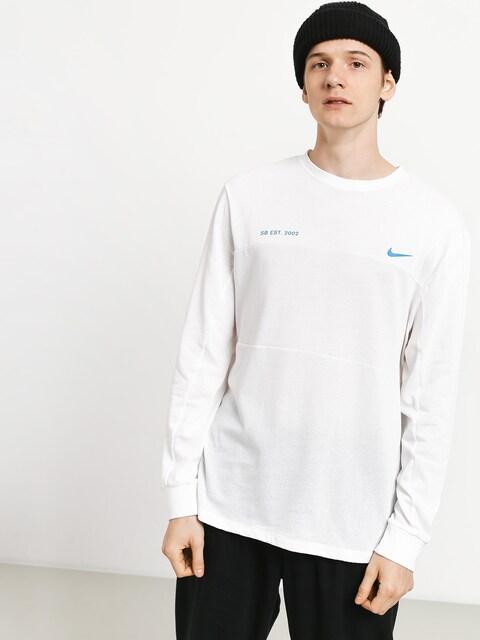 Nike SB Top Mesh Longsleeve (white/photo blue)