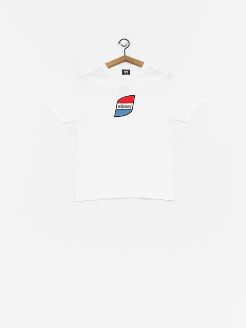 Stussy Stripes T-shirt Wmn (white)