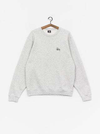 Stussy Basic Sweatshirt (ash heather)
