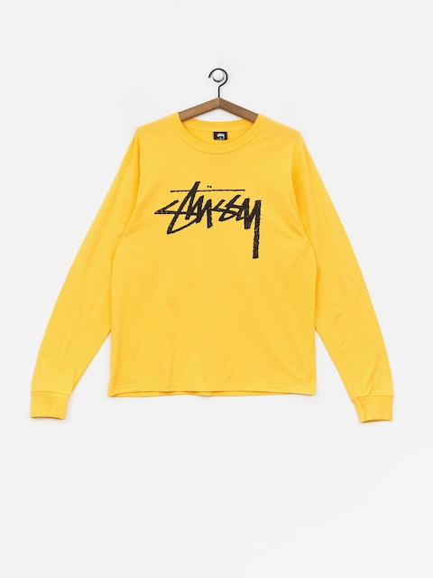 Stussy Stock Ls Longsleeve (orange)