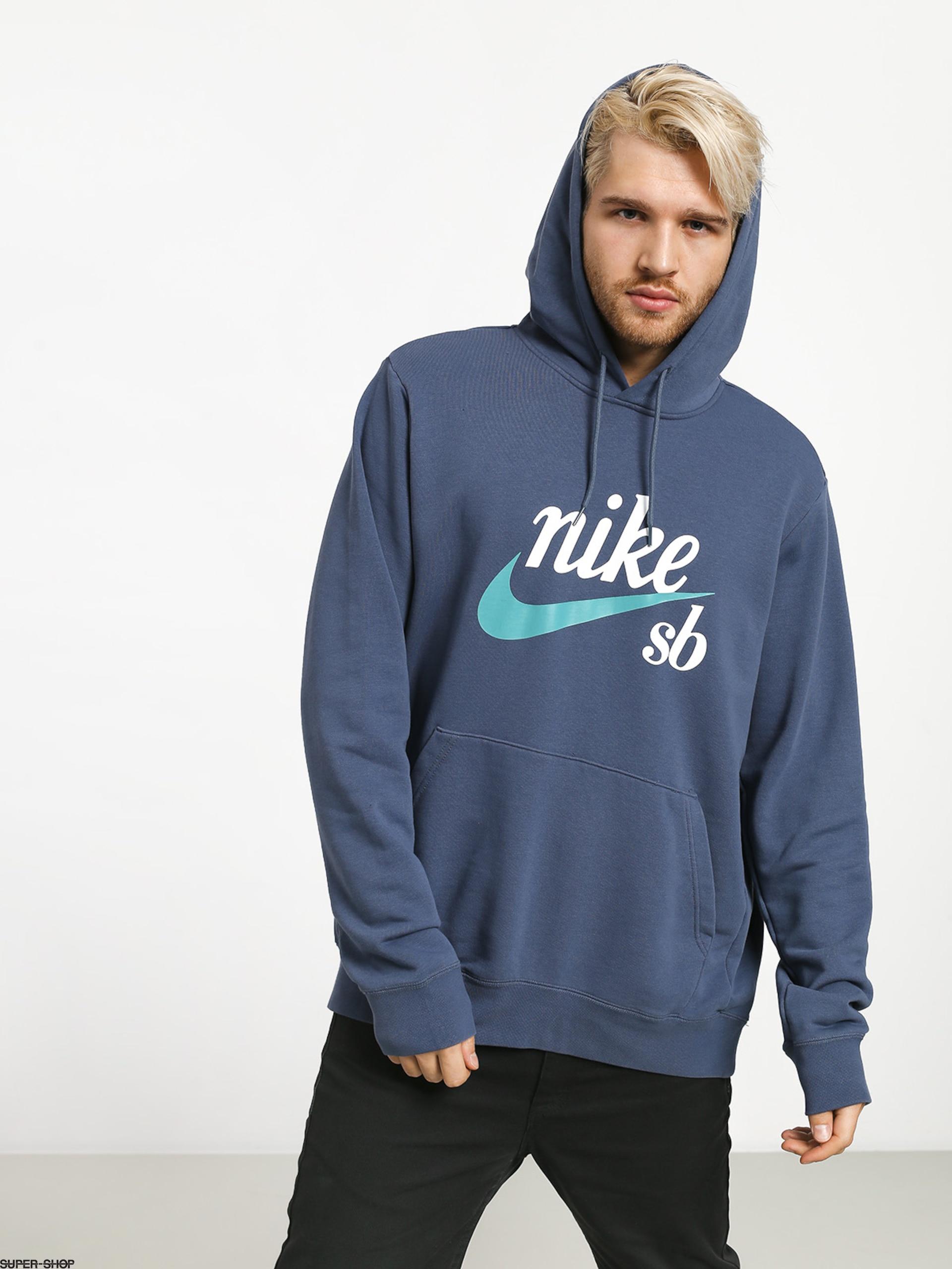 Nike SB Hoodie Washed Icon HD Hoodie (obsidiancabana)