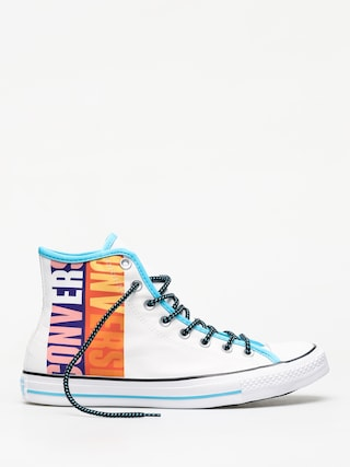 Converse Chuck Taylor All Star Hi Chucks (white/gnarly blue/white)