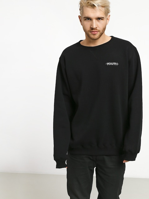 Youth Skateboards Logo Sweatshirt (black)