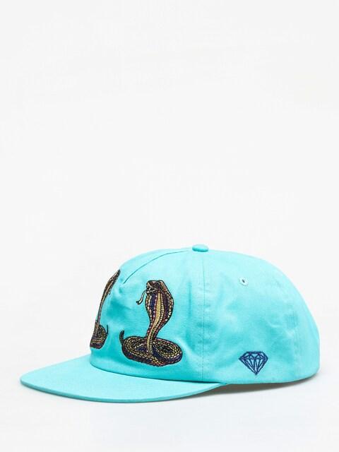 Diamond Supply Co. Cobra Unstructured Strapback ZD Cap (diamond blue)