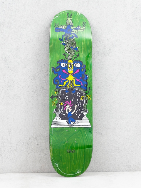 Polar Skate Hjalte Halberg Dragon Gate Deck (green)