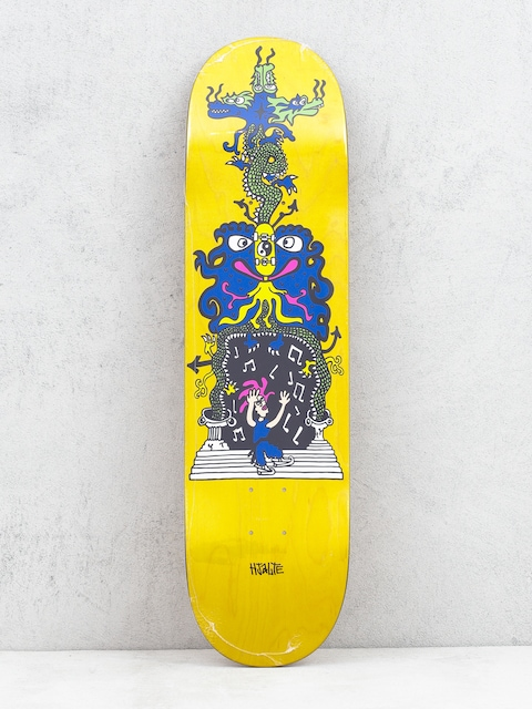 Polar Skate Hjalte Halberg Dragon Gate Deck (yellow)