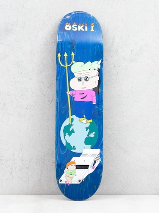 Polar Skate Oskar Rozenberg Oski 1 Deck (blue)