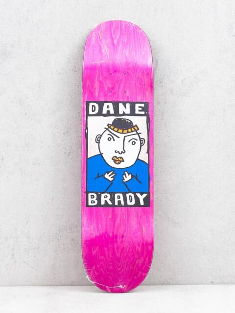 Polar Skate Dane Brady Portrait Deck (pink)