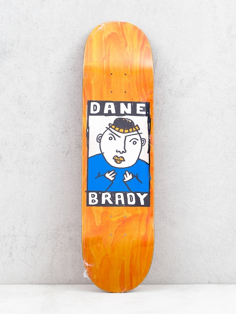 Polar Skate Dane Brady Portrait Deck (orange)
