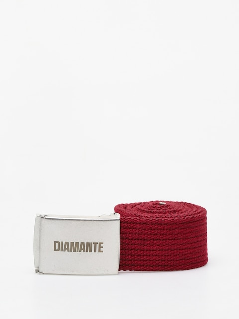 Diamante Wear Classic Belt (burgundy)