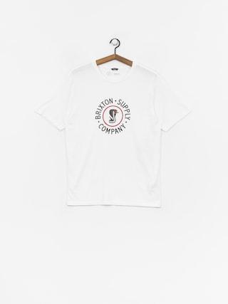 Brixton Battalion Prt T-shirt (white)