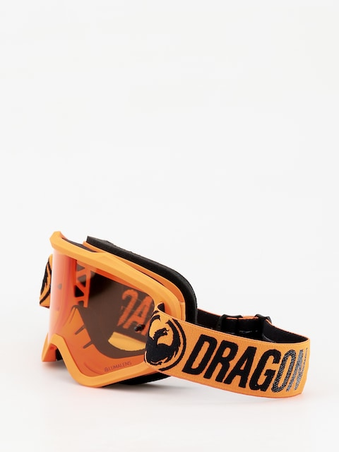 Dragon MXV Goggles (break orange/lumalens amber)