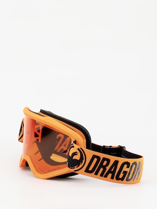 Dragon MXV Goggles (break orange/lumalens amber)