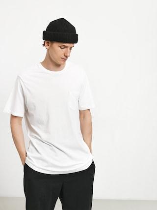Volcom Solid Pocket T-shirt (wht)