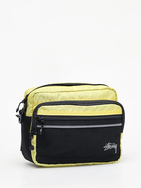 Stussy Diamond Ripstop Bag (lime)