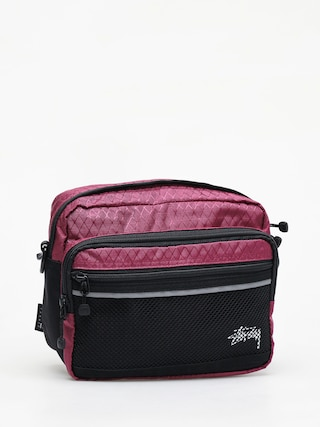 Stussy Diamond Ripstop Bag (berry)
