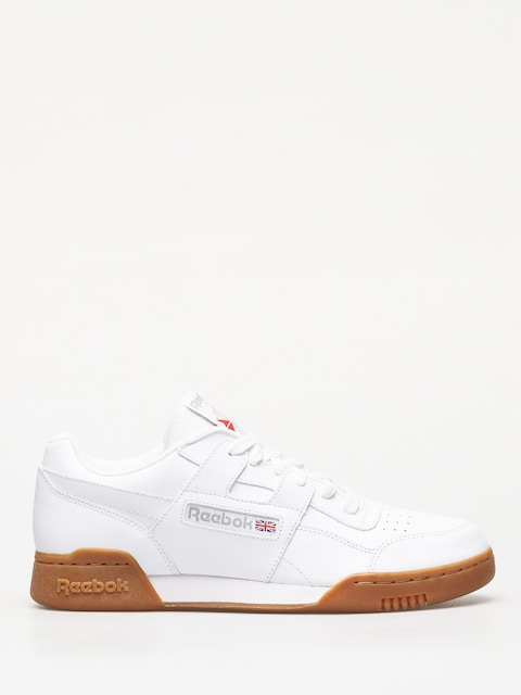 Reebok Workout Plus Shoes (white carbon/classic red/reebok royal gum)