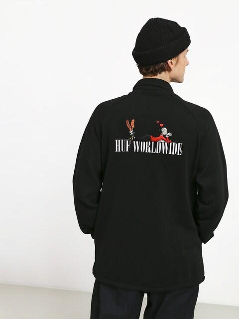 HUF Olive Fleece Jacket (black)