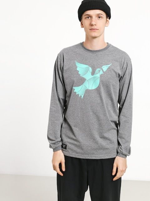 Nervous Icon Longsleeve (grey)