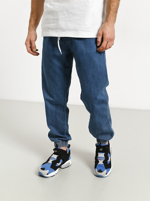 El Polako Handmade Jogger Pants (blue)