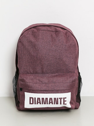Diamante Wear Boxlogo Backpack (burgundy jeans)