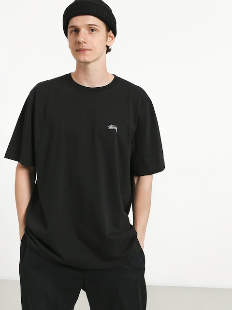 Stussy Stock Crew T-shirt (black)