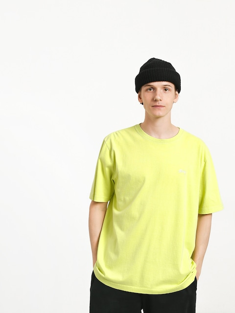 Stussy Stock Crew T-shirt (lime)